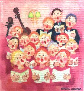 Disktrasa Alla kan sjunga