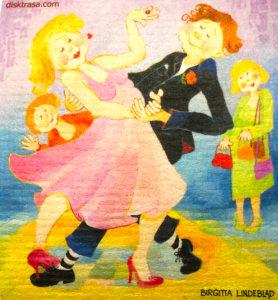 Disktrasa Let´s dance