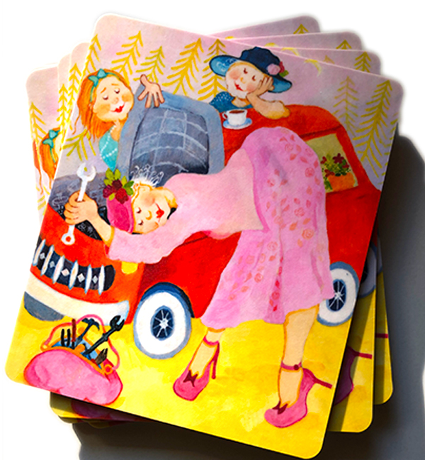 köpa vykort